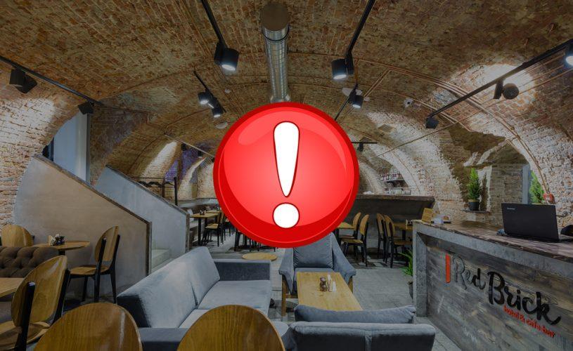 Важно: 7.01 — 13.01 закрытие кафе-бара в Red Brick Китай-город
